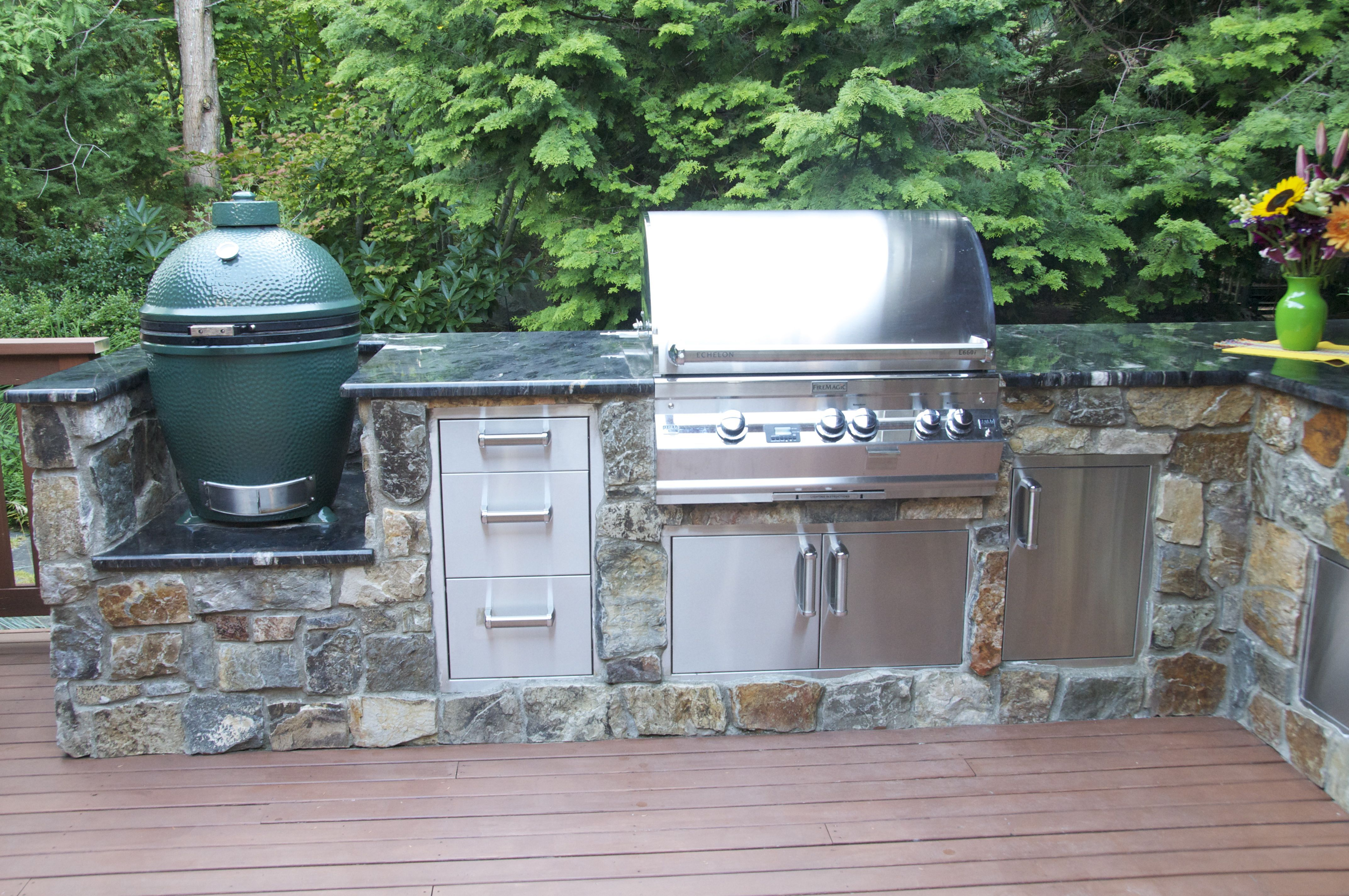 graysen woods outdoor kitchen island ideas for the backyard