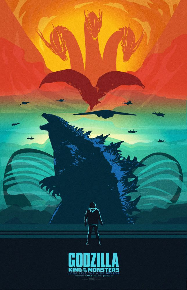 Godzilla King Of The Monsters With Images Godzilla Godzilla Wallpaper Kaiju Monsters