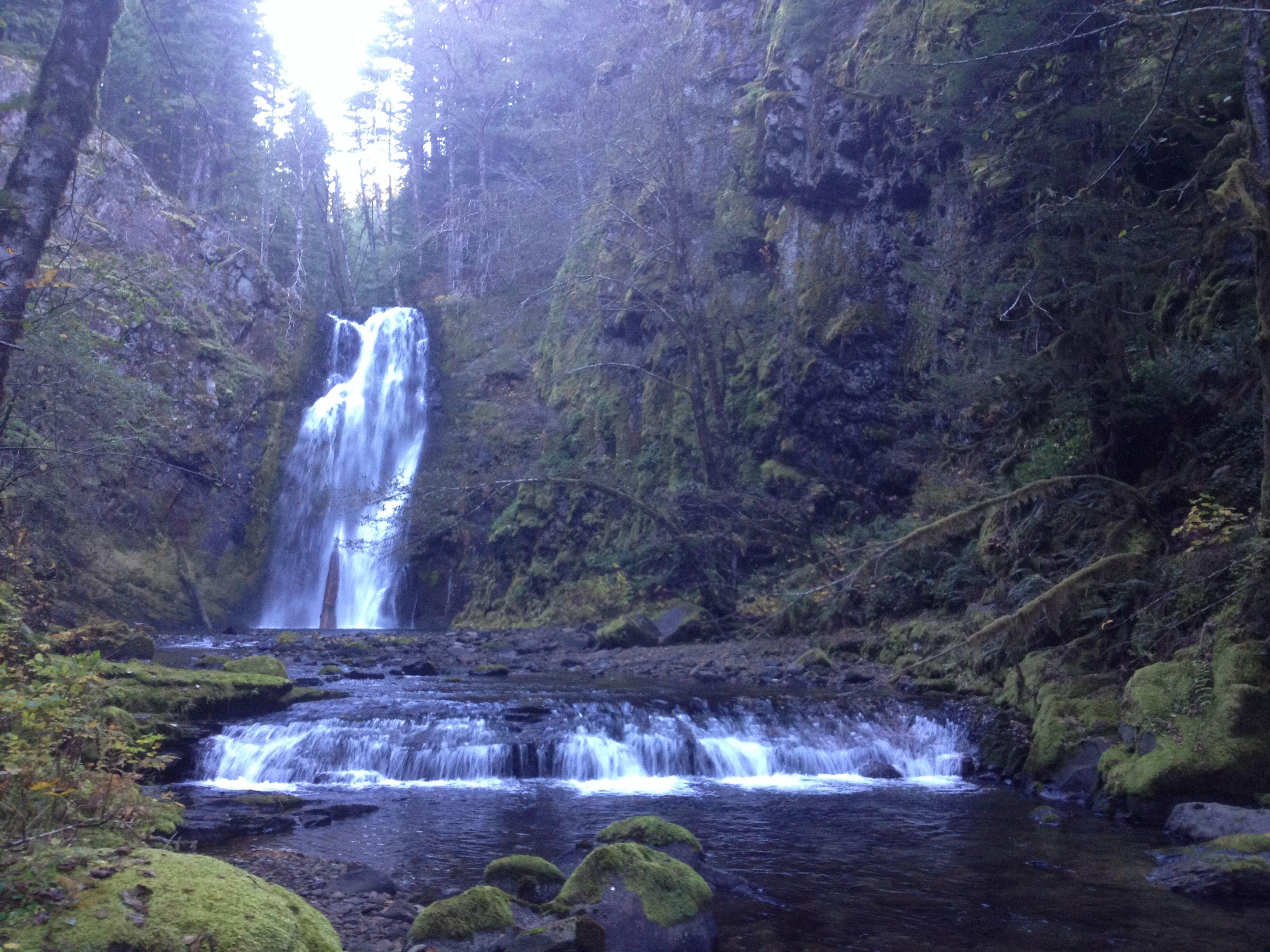 Mowitch Falls, Skamania County, Washington - Northwest
