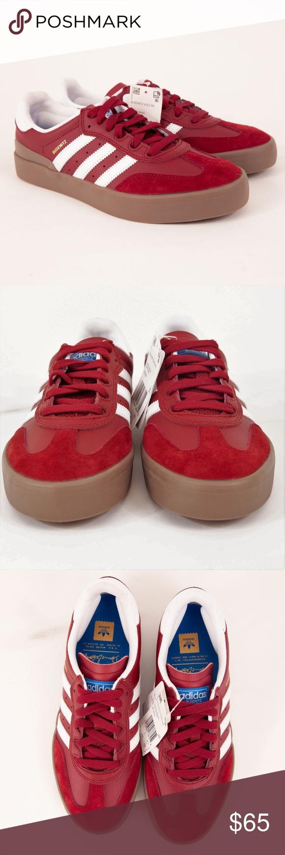new product 492f0 f4714 Adidas Busenitz Vulc RX Athletic Shoes BY3979 Adidas Men s Busenitz Vulc RX  Shoes Sneakers Burgundy