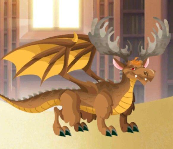 Moose Dragon Dragon City Pinterest