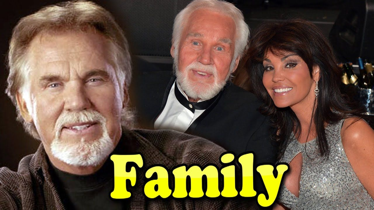 Kenny Rogers Family With Daughter,Son and Wife Wanda ...