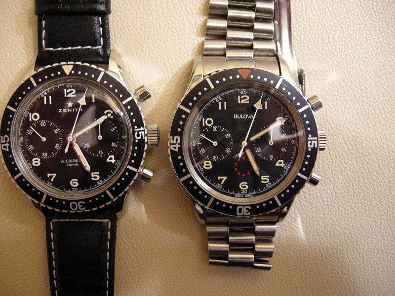 Vintage Pilot Watches (Zenith + Bulova) | Watches * Horology | Pinterest