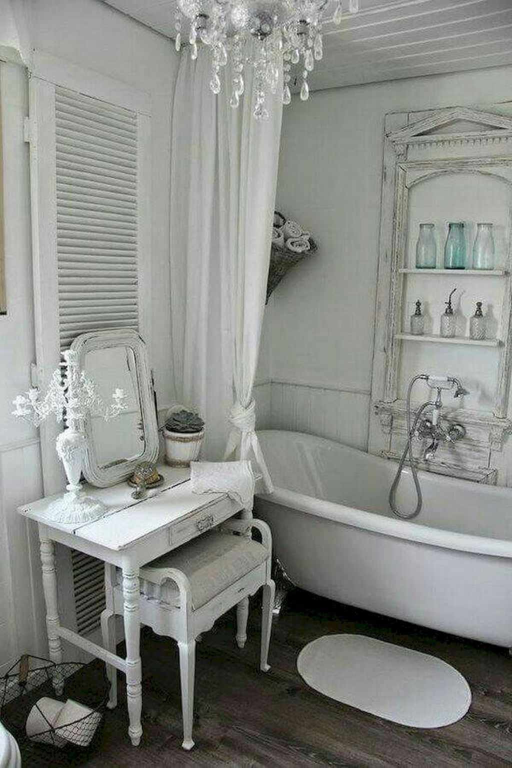Window well decoration ideas  cool  adorable shabby chic bathroom decor ideas livinking