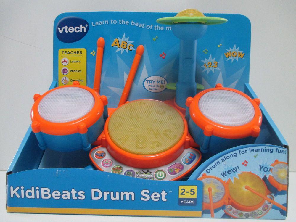 Vtech Kidibeats Kids Drum Set New Vtech Toys Pinterest Kids
