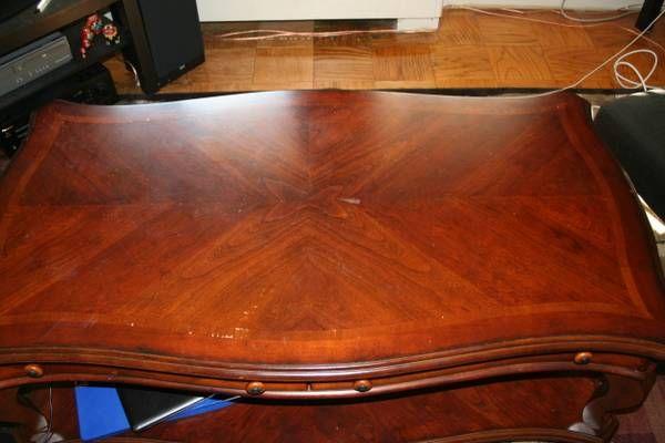 Solid Wood Coffee Table - $125 (Arlington, VA) | Coffee ...
