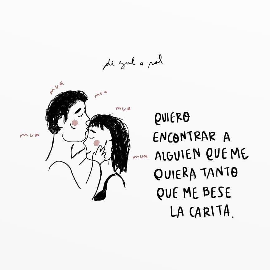 Besos En La Carita De Azul A Sol Love Pinterest Quotes