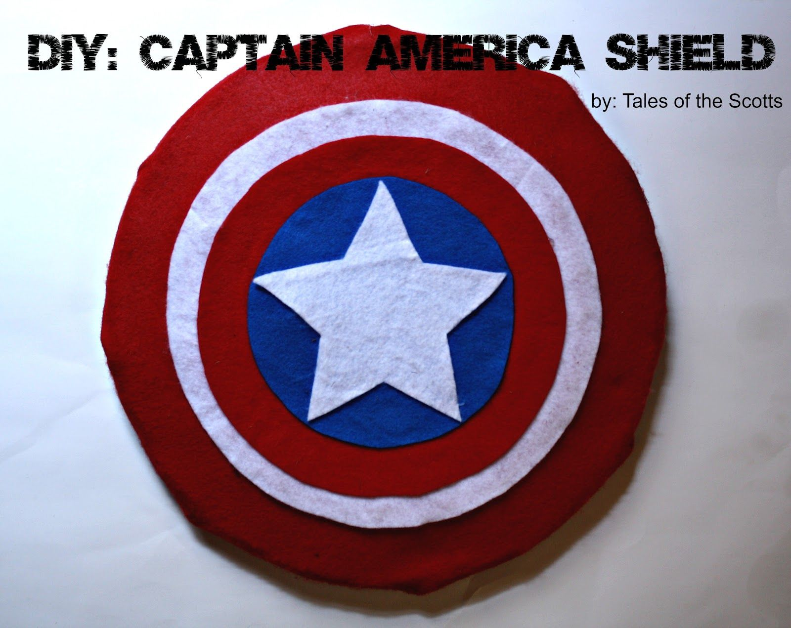 DIY Captain America Shield chef hat Pinterest