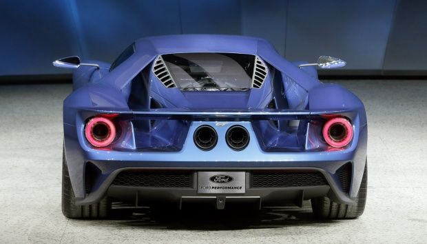 New Bomb From Ford Ford Gt In Detroit Auto Show 2015 Ford Gt