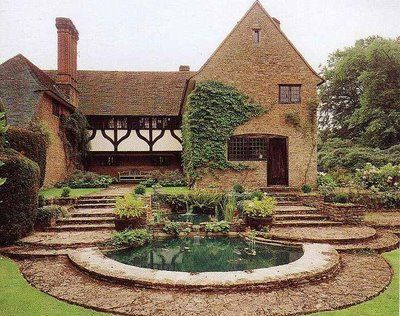 Munstead Wood, the house designed for Gertrude Jekyll - by her protege, Ned Lutyens