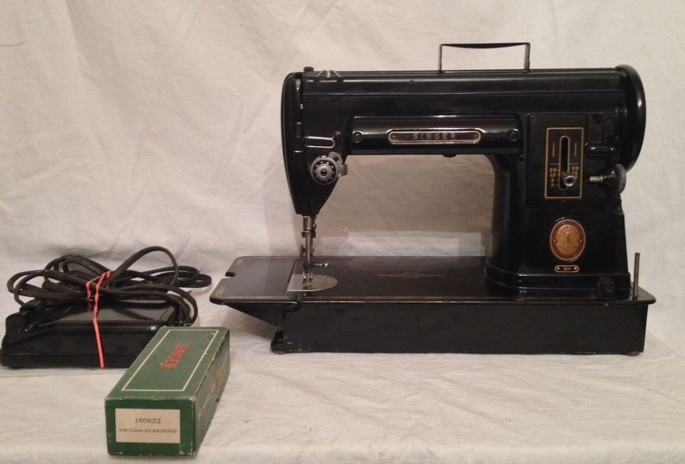 Singer 40 Sewing Machine 40 Black Finish Runs Fine Very Amazing 1951 Singer Sewing Machine Ebay