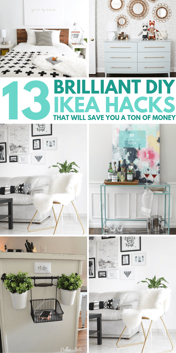 13 DIY IKEA Hacks to Transform Your Furniture On a Tiny Budget images