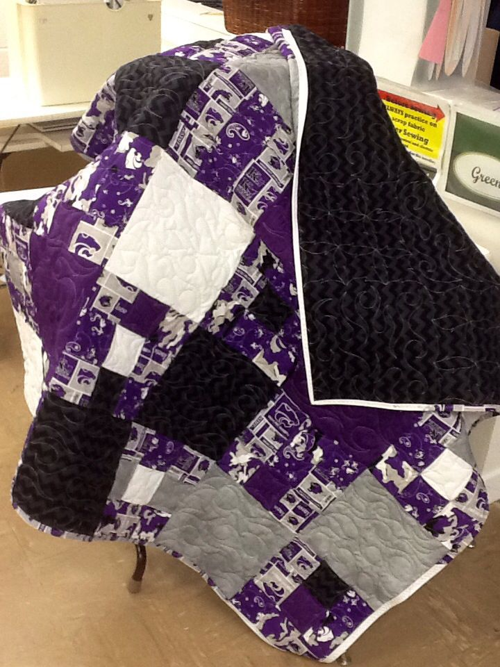 Introduction  to FACS Student project K-State quilt
