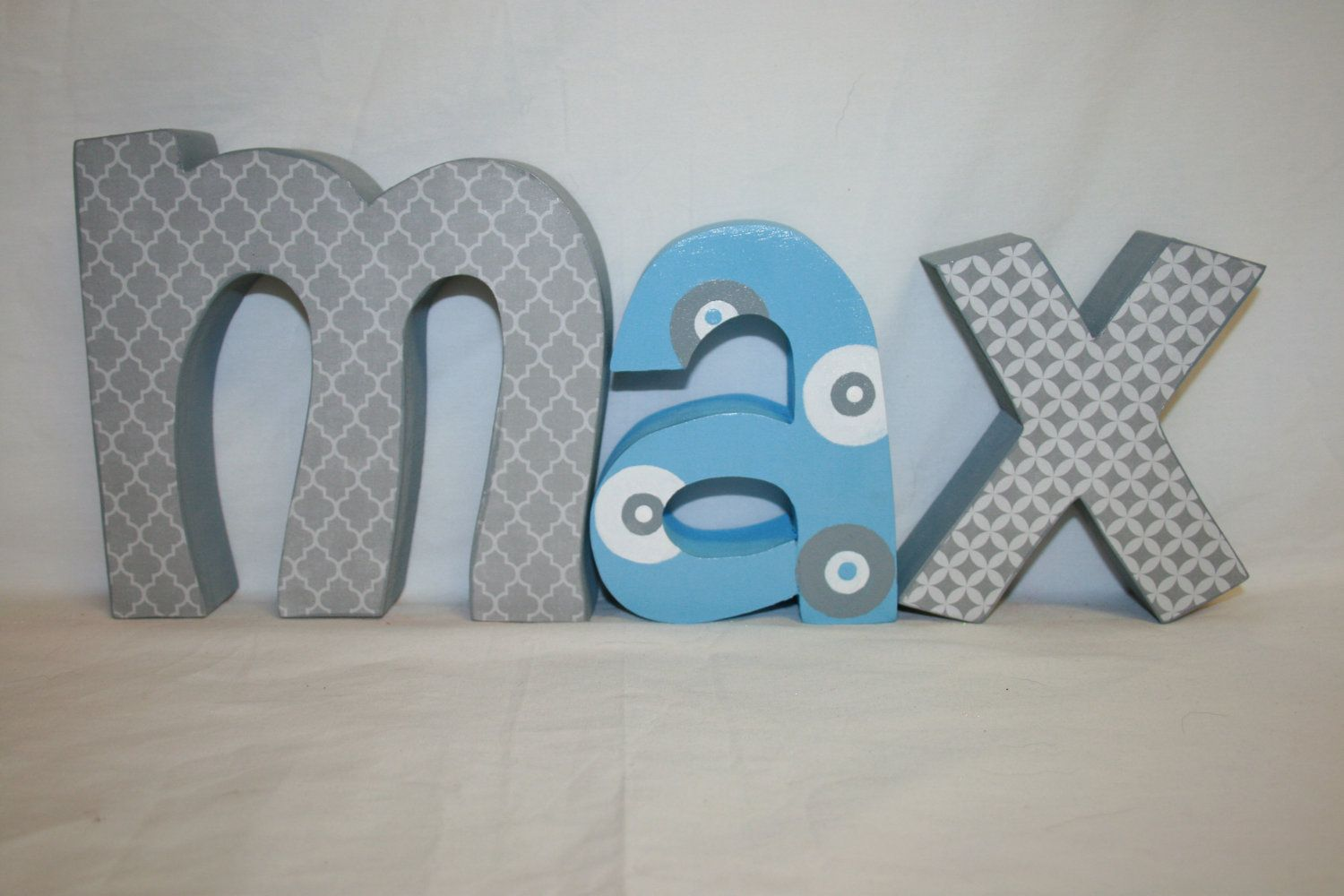 10 best images about wall letters of baby 39 s name on pinterest