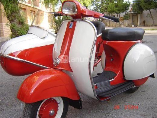 Vespa 150 Con Sidecar Venta De Motos Usadas Motos De Segunda Venta De Motos