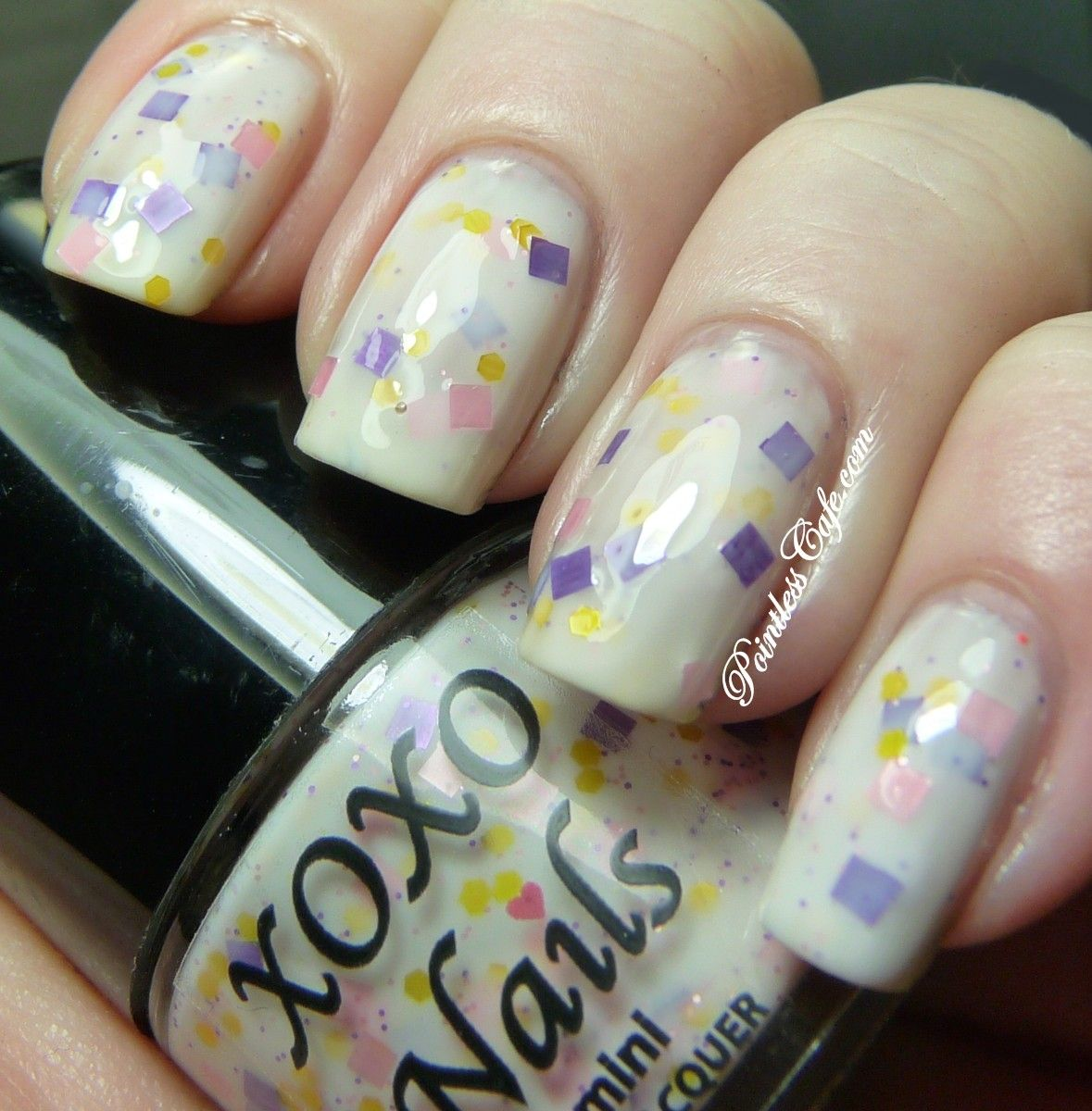 Xoxo Nails Dont Play Me Pointless Cafe Indie Nail Polish