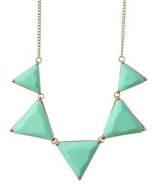 rue21 Triangle Necklace. $8.99