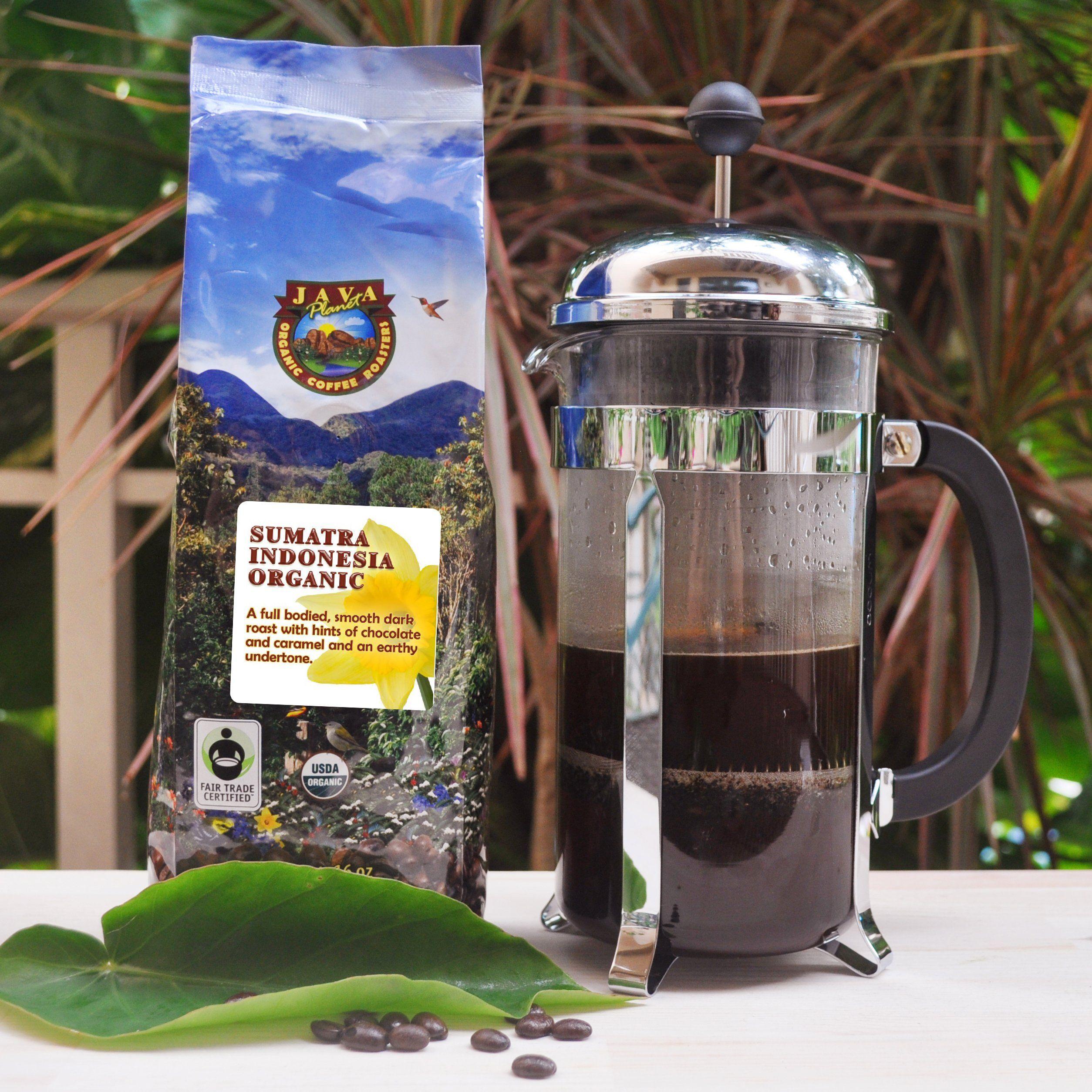 Java Sumatra Indonesian USDA Organic Coffee Beans
