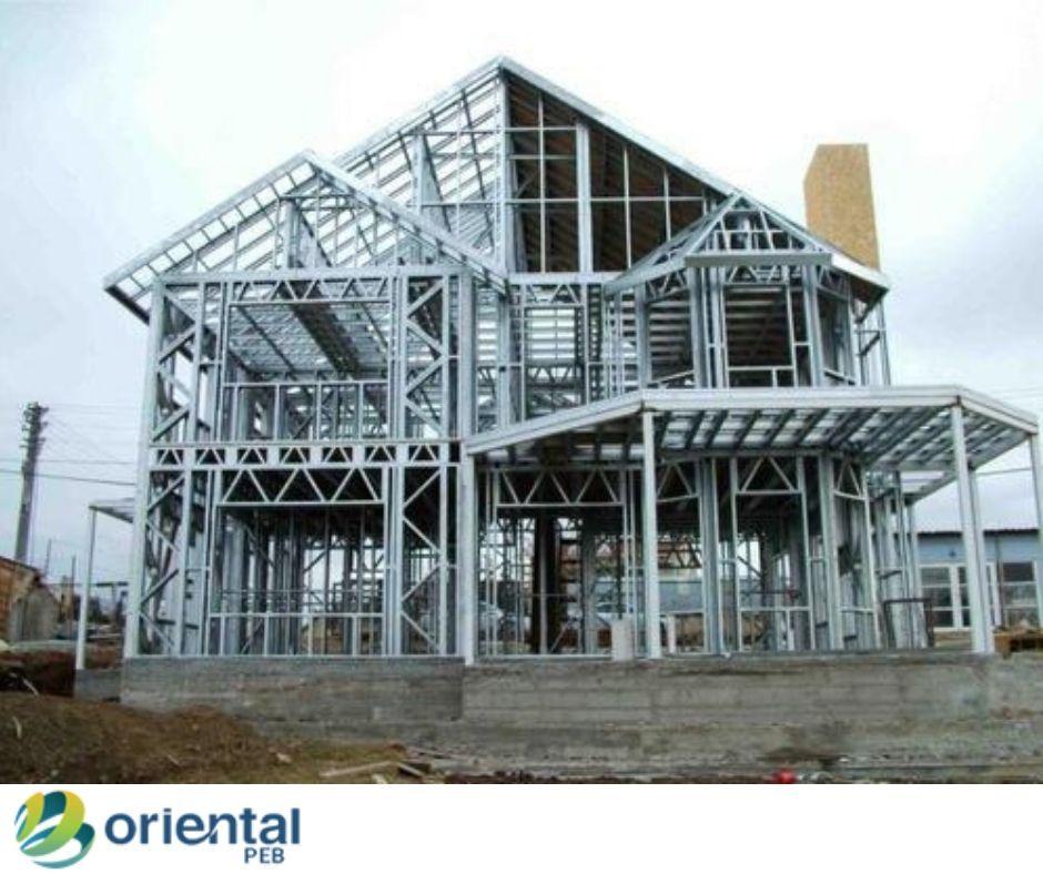 Pre Engineered Building Manufacturers Oriental Peb Kerala Steel Frame House Steel House Metal Buildings