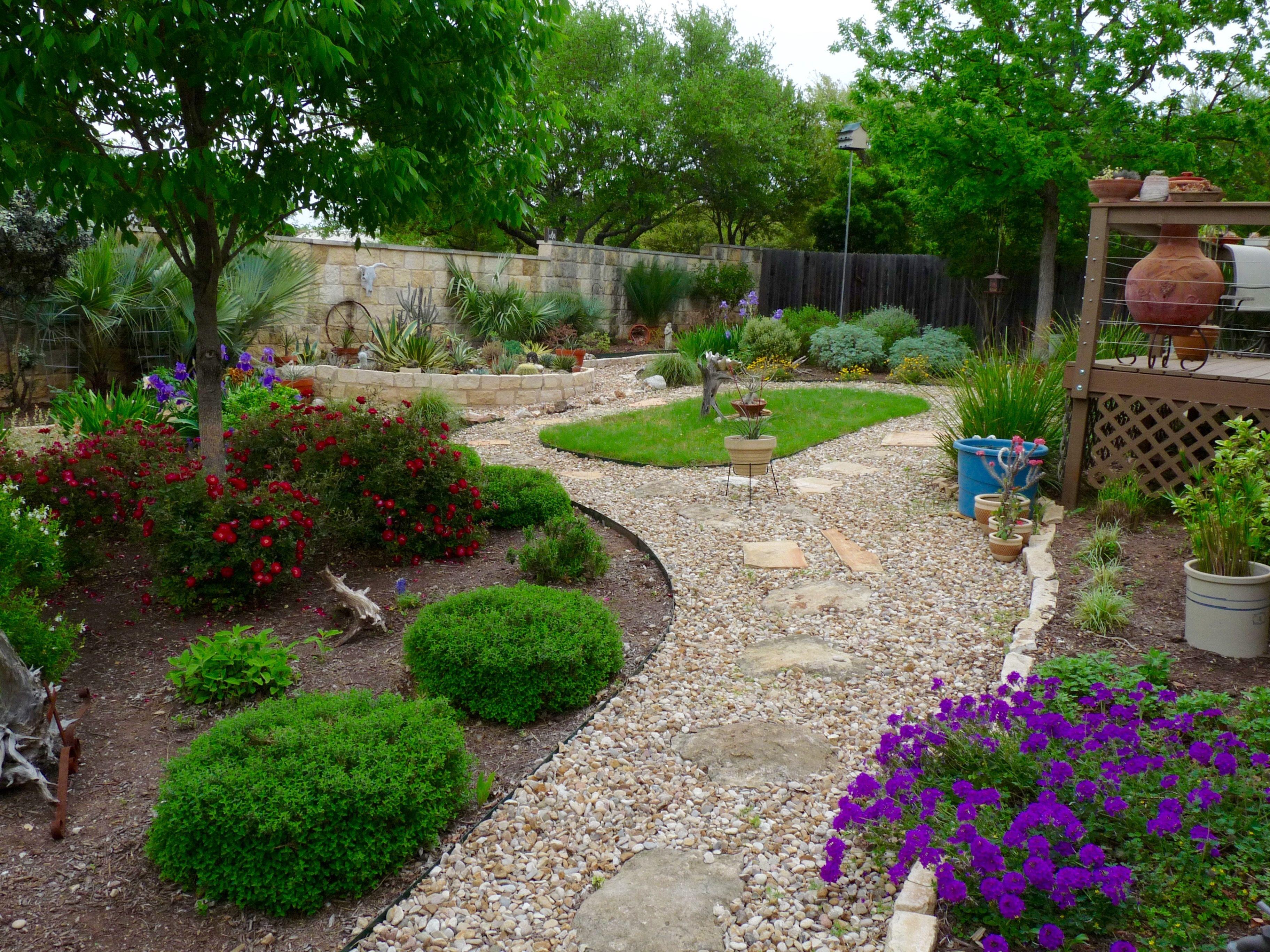 Central Texas Gardening Texas Landscaping Backyard Texas Landscaping Texas Gardening