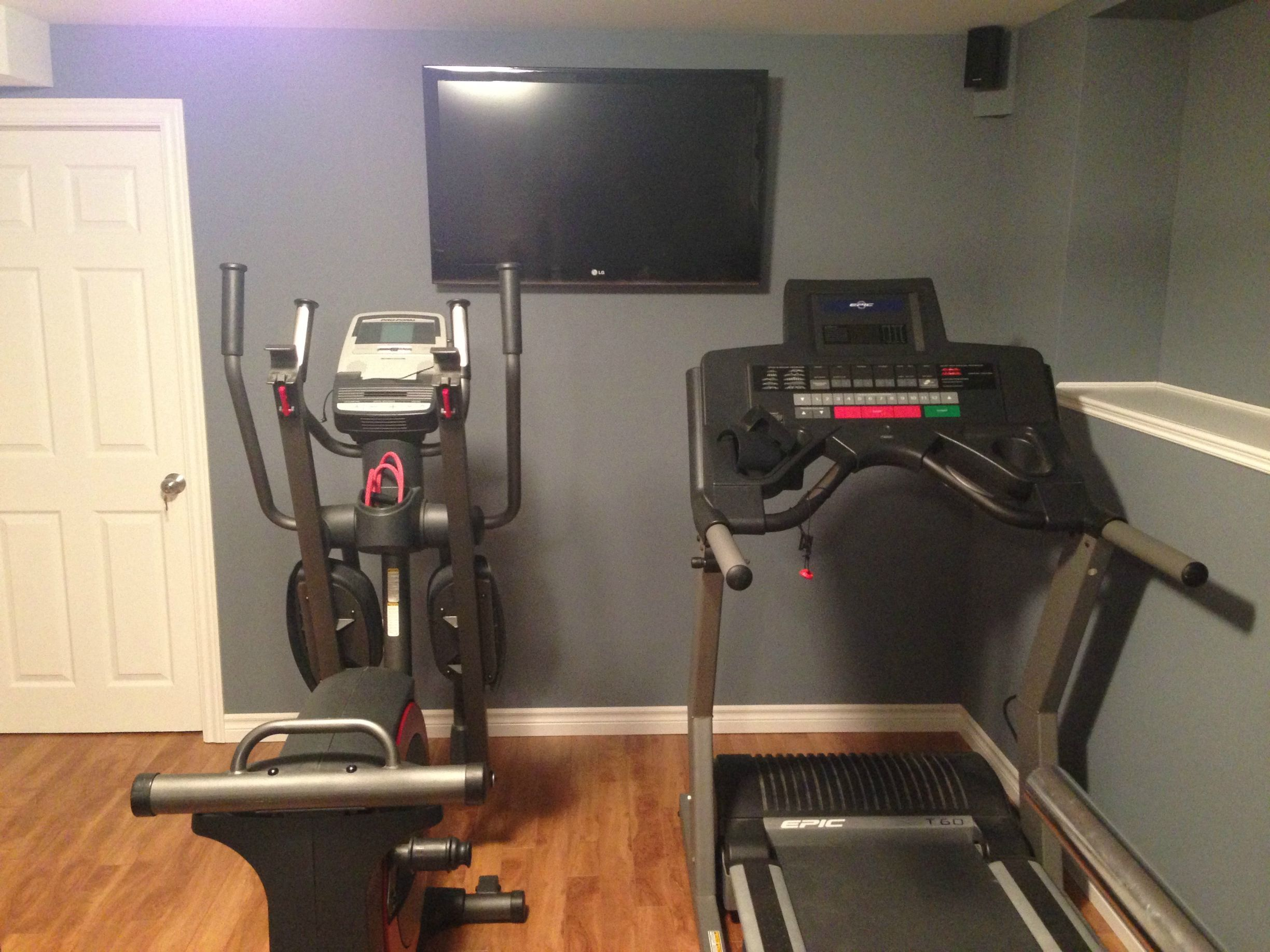 Home Gym Ideas Small Space Part - 33: Small Home Gym Setup - Google Search