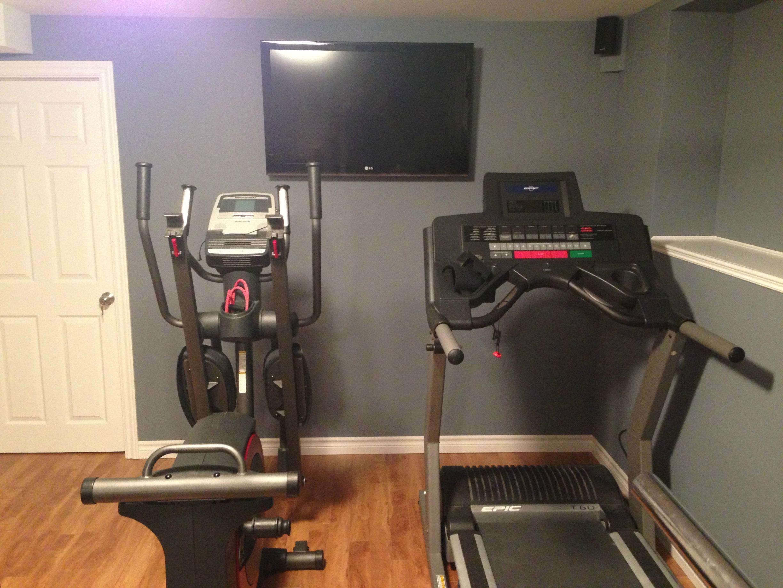 Small Home Gym Setup - Google Room