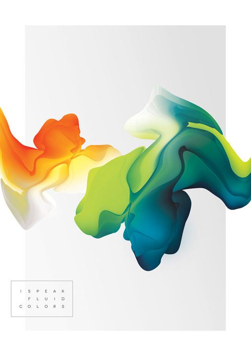 enochliew:  I Speak Fluid Colours by Maria Grønlund The organic...