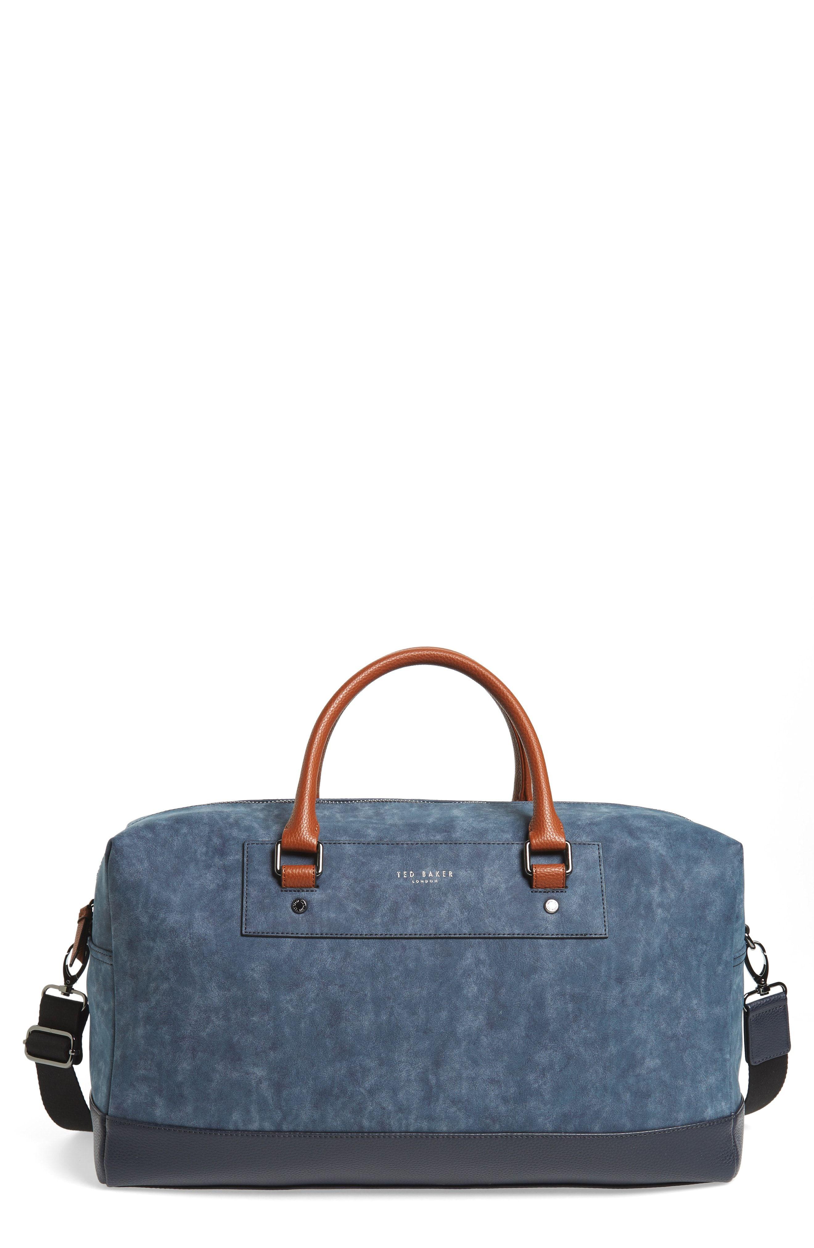 1e3503aff TED BAKER DOCUMENT BAG - GREEN.  tedbaker  bags  leather  nylon ...