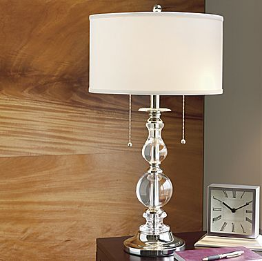 Royal velvet optic crystal table lamp jcpenney