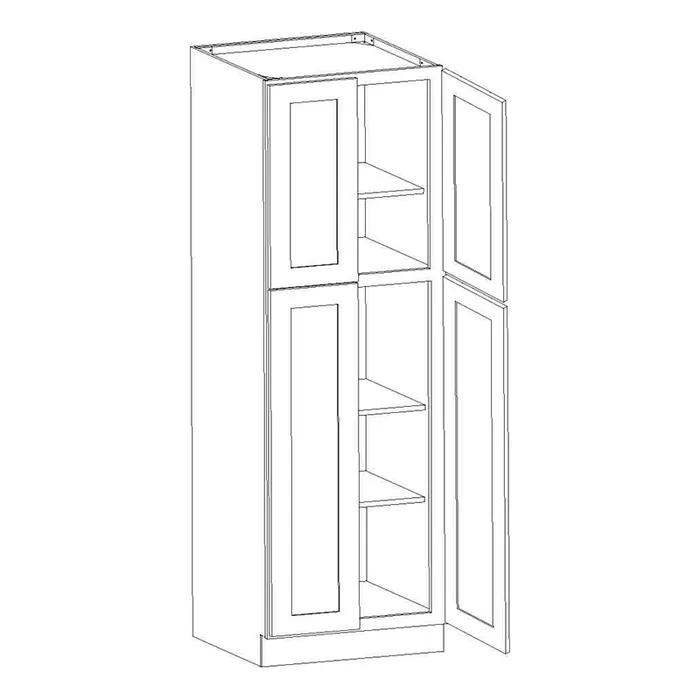 44++ Shaker utility cabinet model