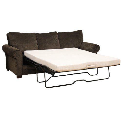 Classic Brands Memory Foam Sofa Mattress Replacement Sofa Bed