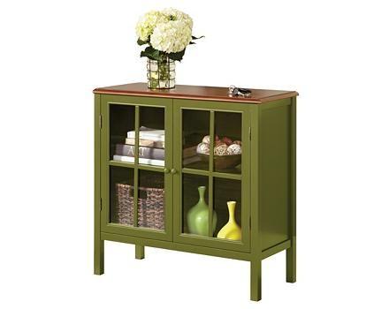 Everett Leaf Green Cabinet | Canadian Tire | Green ...