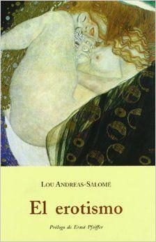 """El erotismo es una recopilación de varios ensayos de Lou Andreas Salomé: """"El ser humano como mujer"""", """"Reflexiones sobre el problema del amor"""", """"El erotismo"""" y """"Psicosexualidad"""", poniendo en la mesa los planteamientos culturales sobre la condición femenina."""
