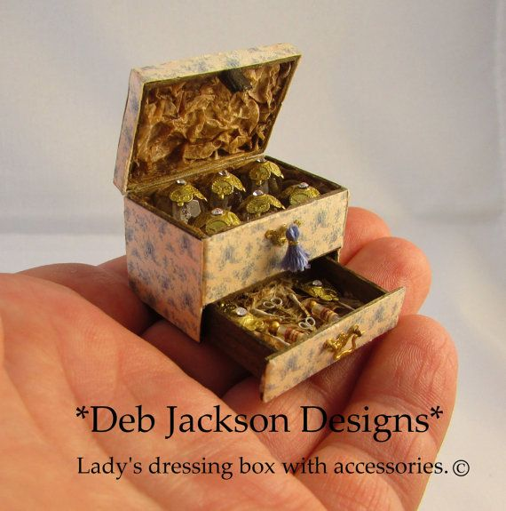 From DJD 12th scale lady's French style by DebJacksonDesigns