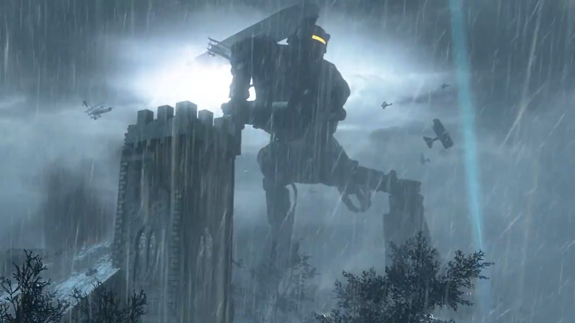 Call Of Duty Black Ops 2 Apocalypse Dlc Preview Video Shows Giant Robots Gameplay Black Ops Call Of Duty Zombies Black Ops Zombies
