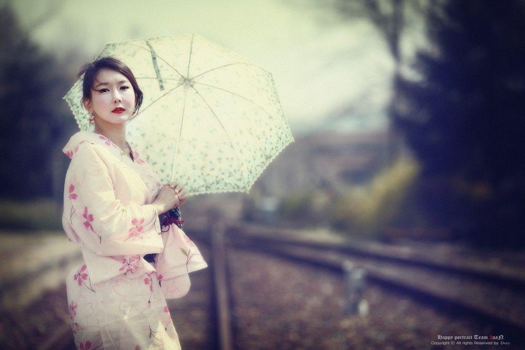 Kimono asians korean parasol han seo young (1024x682, asians, korean, parasol, han, seo, young)  via www.allwallpaper.in