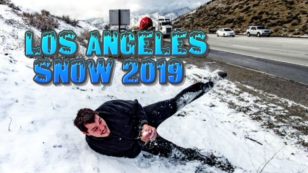 Los Angeles Snow Compilation 2019 Funny Pictures Los Angeles Just For Laughs
