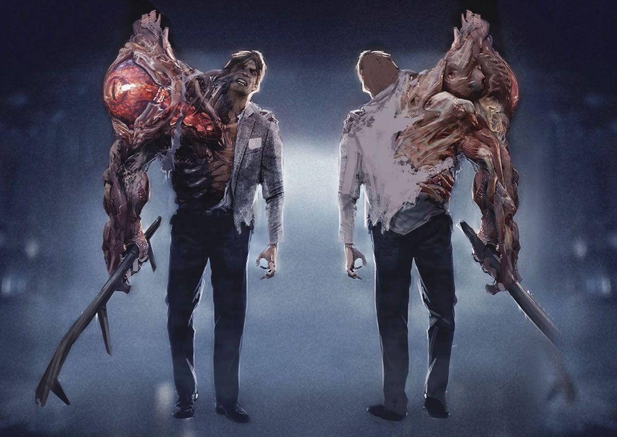 Concept Art Resident Evil Resident Evil Monsters Art Gallery