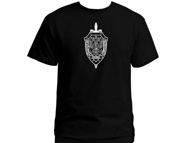 New US Secret Service FBI CIA Army Military Black T shirt S-4XL