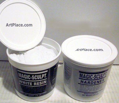Magic Sculpt 1 Lb. Epoxy Clay White by Magic Sculpt, http://www.amazon.com/dp/B003AL7FCC/ref=cm_sw_r_pi_dp_-0HYqb1DME8GA