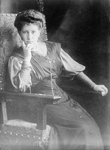 Princess Maria of Greece and Denmark (Grand Duchess Maria Georgievna)(1876-1940) wife of Grand Duke George Mikhailovich of Russia