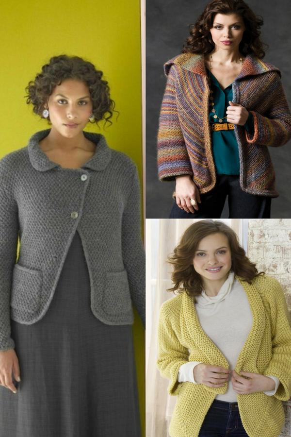 30+ Stylish Ladies Jackets Free Knitting Patterns | Free Knitting ...