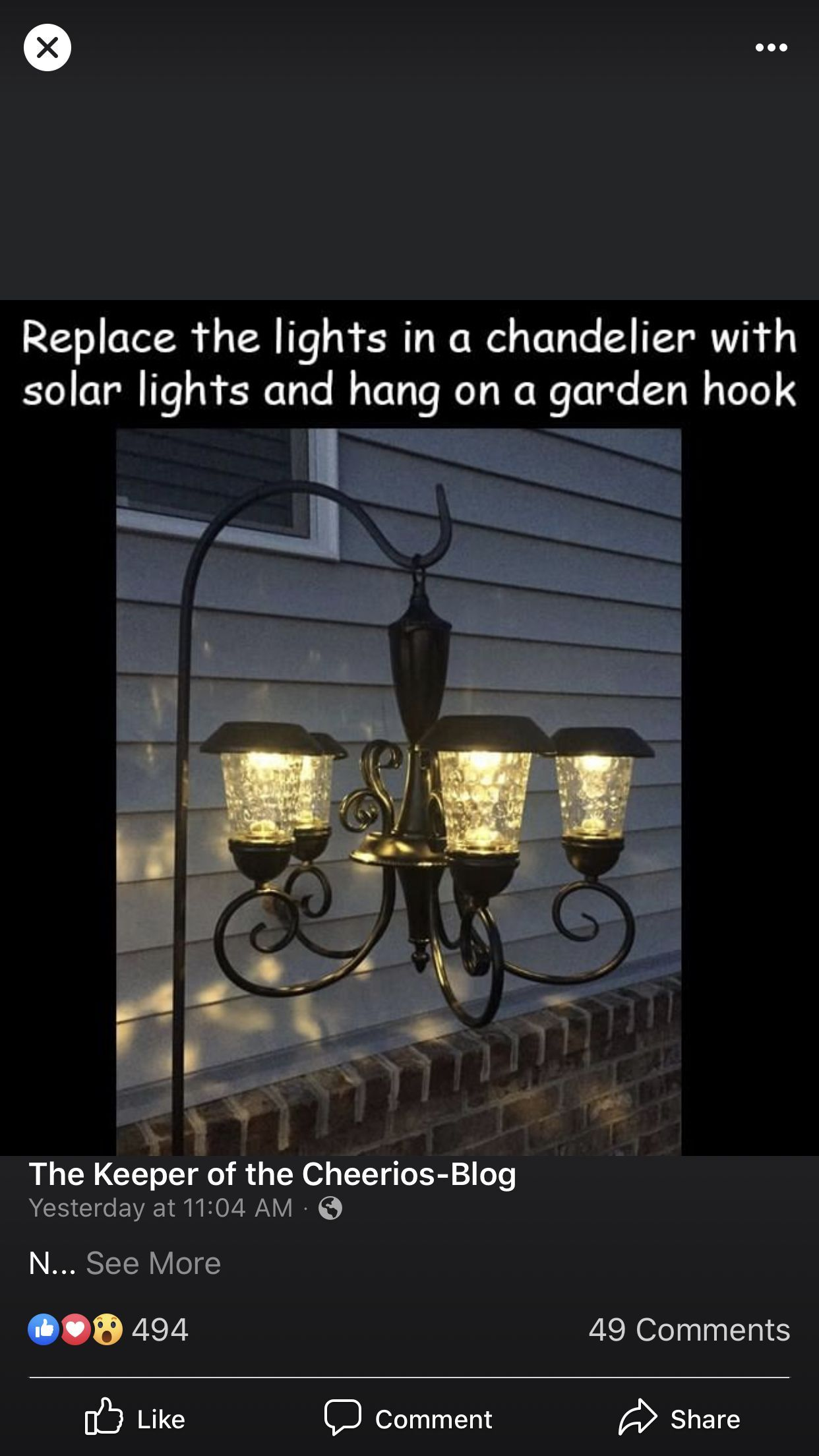 Solar Lights Ideas Outdoor Walkway In 2020 Solar Light Crafts Solar Light Chandelier Light Crafts