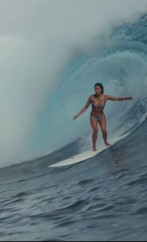 Kelia Moniz Tyler Haft Tahiti Mexico Visit Nobodsurf Com For Full Edit More Info Nobodysurf Surfing Surfing Surfing Pictures Surf Girls