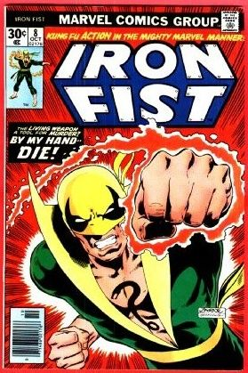 """Around this time Chris Claremont and John Byrne (later associated with """"X-Men"""") start handling the so-called """"Living Weapon""""! Iron Fist may be a lethal weapon when accused of murder!"""