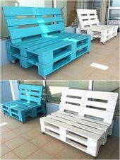 Photo of 45 ideas for creative garden furniture for the garden – Pallette projects – Pall …