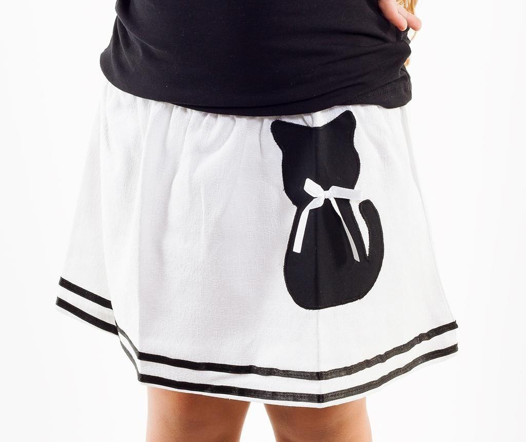 Cat girls skirt ice cream toddler skirt cat girls clothes cat skirt summer toddler skirt striped baby clothes ice cream girls skirt