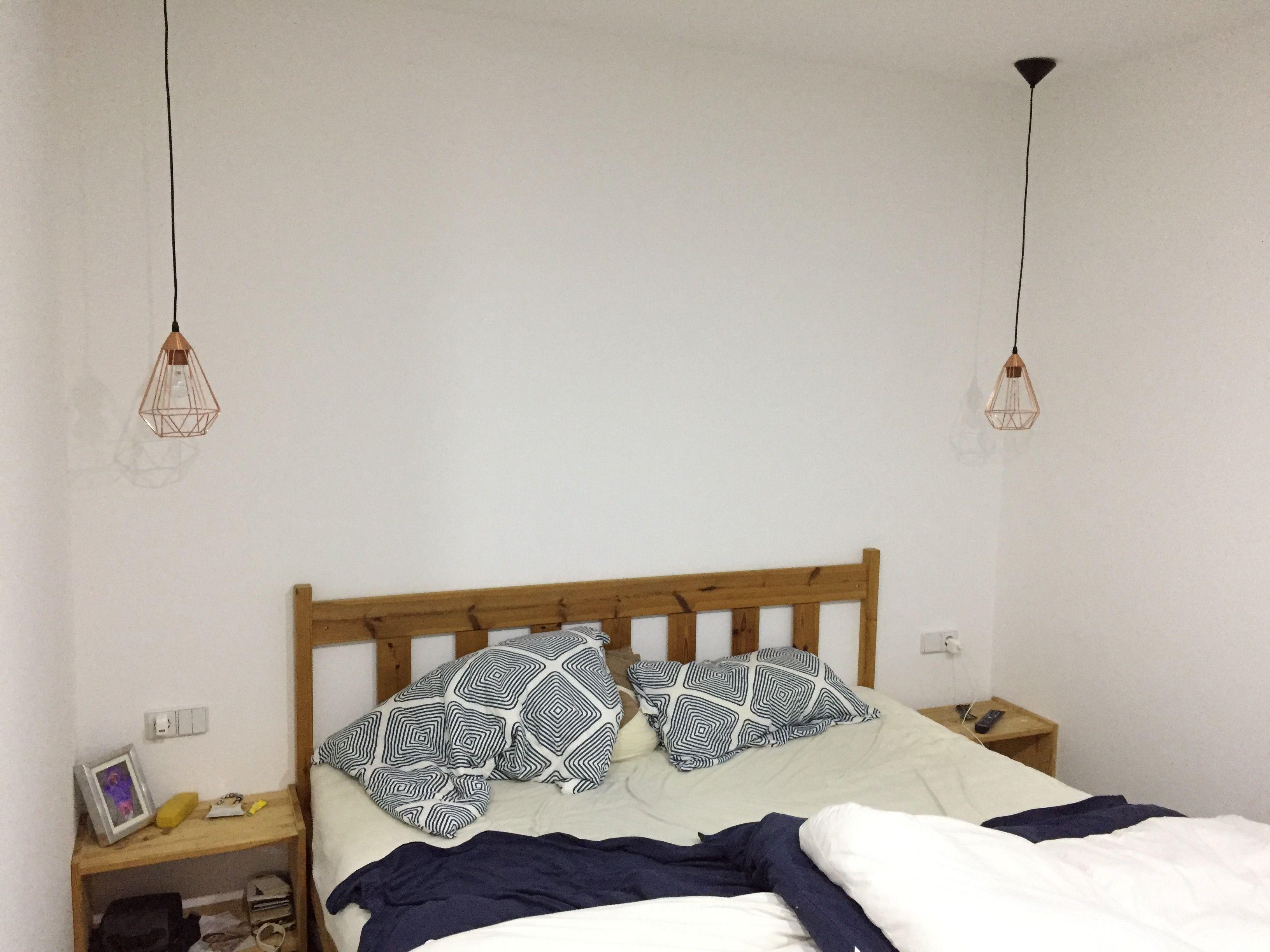 Hängeleuchte - Schlafzimmer   selbtgemacht - my home ...