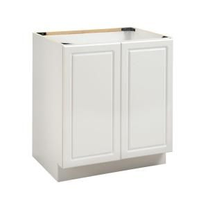 Heartland Cabinetry, 24 In. Base Cabinet Full Height Doors In White,  8001404P At