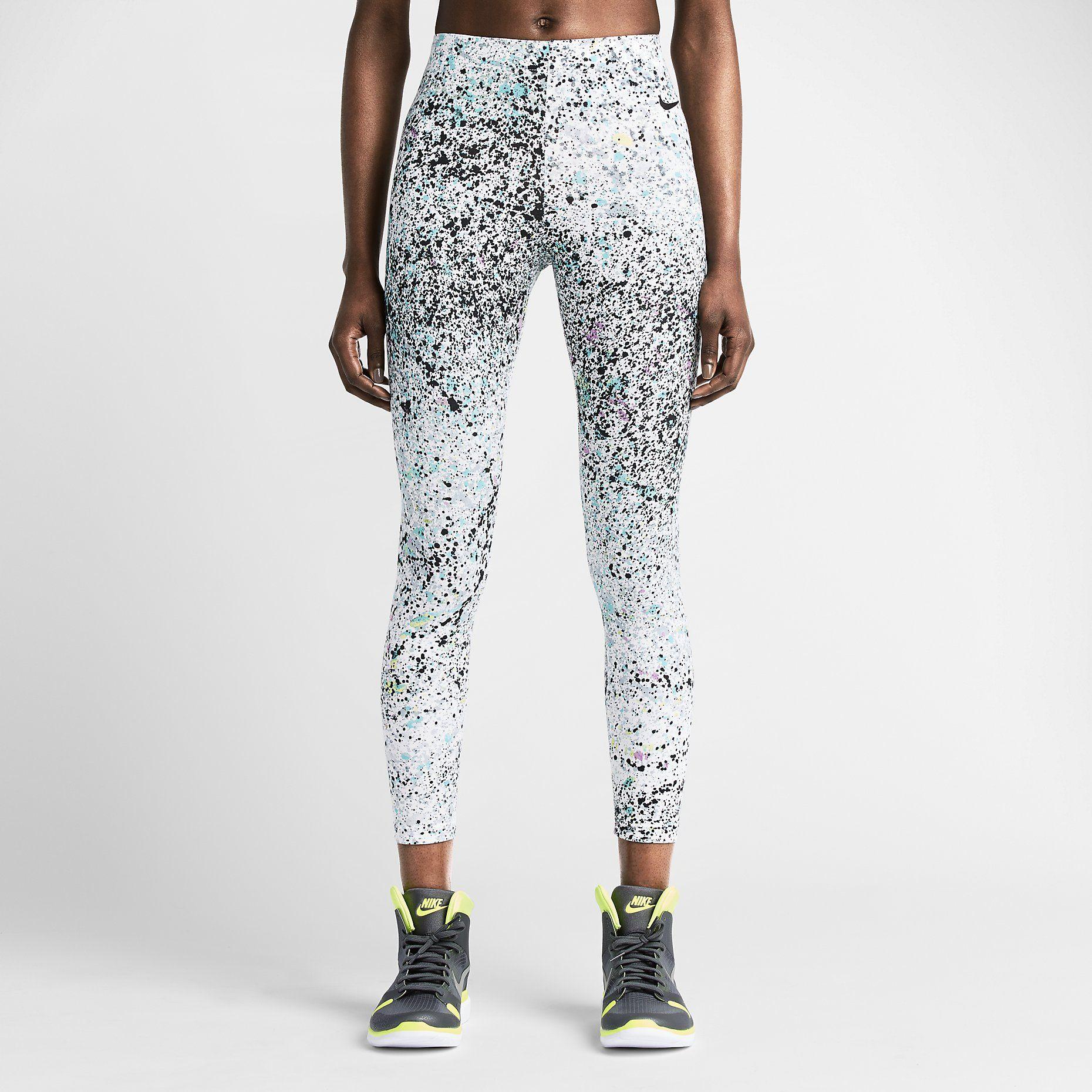 kup tanio sprzedaż hurtowa 2018 buty Legginsy damskie Nike Club Printed Cropped. Nike Store PL ...